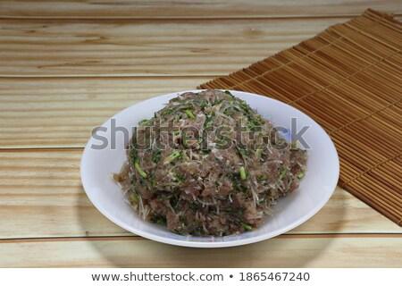 Chef handen voedsel keuken kok Stockfoto © ssuaphoto