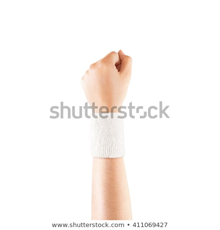 Man with wrist in bandage Stock photo © IS2