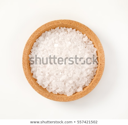 Ruw zout zeezout witte kristal Stockfoto © Digifoodstock