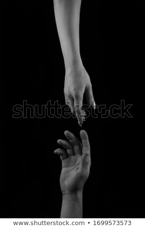 Two hands, almost touching each other Stock photo © IS2