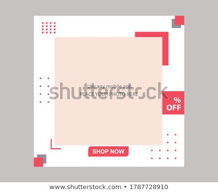 posts collection on instagram vector illustration stock photo © robuart