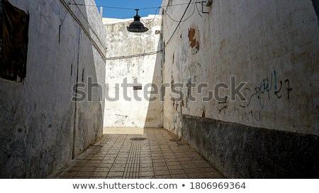 Empty alley in Rabat Stock photo © magraphics