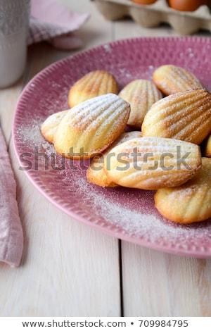 Eigengemaakt cookies chocolade chips vakantie partij levensmiddelen Stockfoto © Melnyk