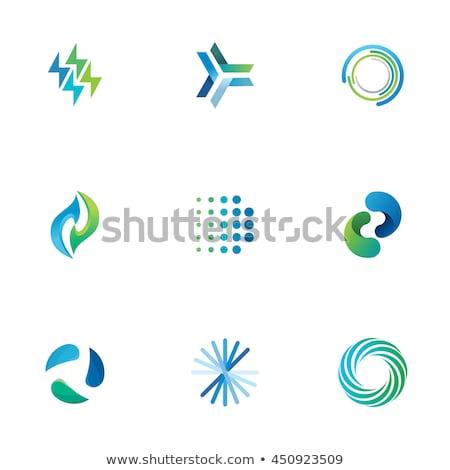ベクトル · 油 · ガス · エネルギー · ロゴ · 火災 - ストックフォト © krustovin