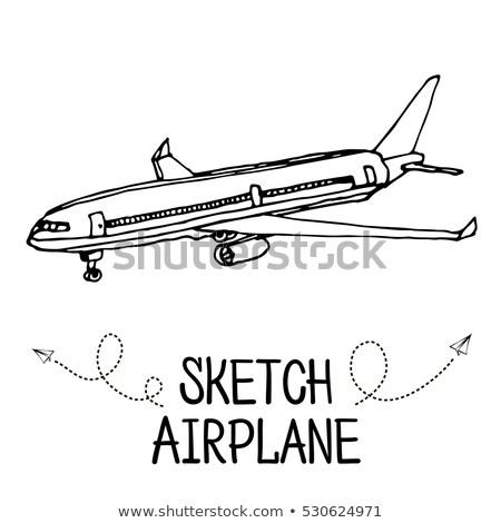 Jet · motor · frente · vista · aislado · blanco - foto stock © rastudio