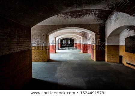 Boş kale nokta duvarcılık Stok fotoğraf © yhelfman
