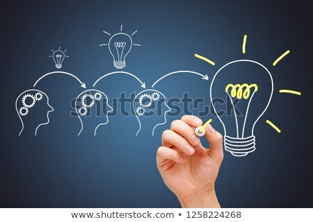 Great Idea Development By Synergy Teamwork Stock photo © ivelin