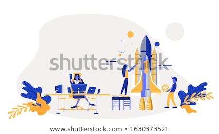 Collaboration concept vector illustration. Stock photo © RAStudio