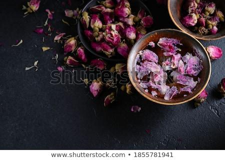 aszalt · rózsa · virág · virágok · természet · levél - stock fotó © grafvision