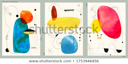 vector set of table stock photo © olllikeballoon