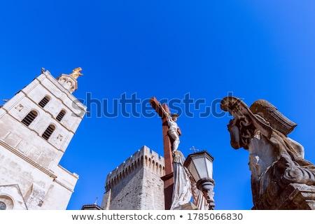 Anjo escultura catedral senhora França Foto stock © boggy