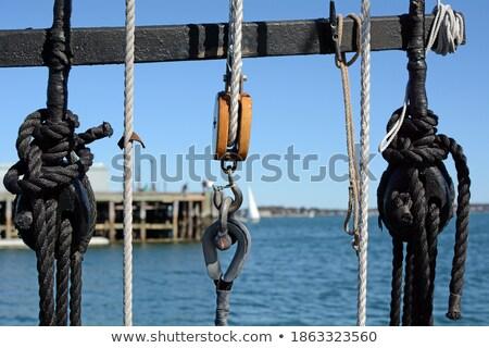 Sailboat rigging system  Stock photo © grafvision