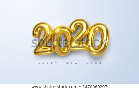 2020 new year. Isolated 3D illustration Stock photo © ISerg