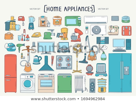 Cleaner Cartoon Set Stock photo © patrimonio