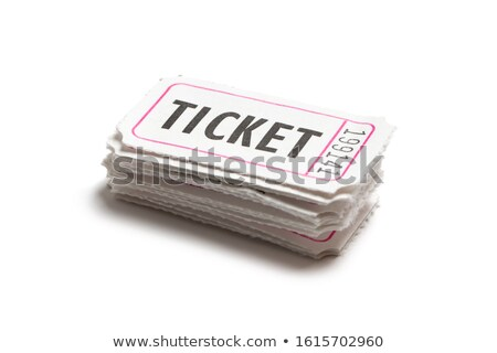 Bianco colore biglietti carta show Foto d'archivio © kenishirotie