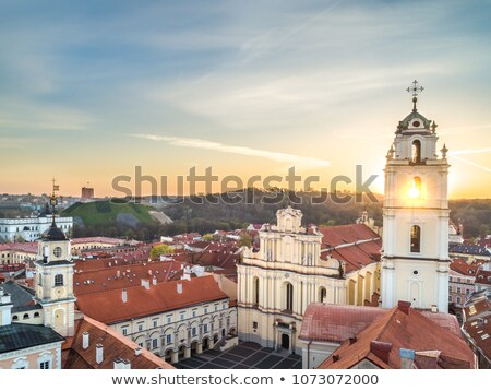 Bell Tower of St. John's Church, Vilnius, Lithuania Stock photo © borisb17