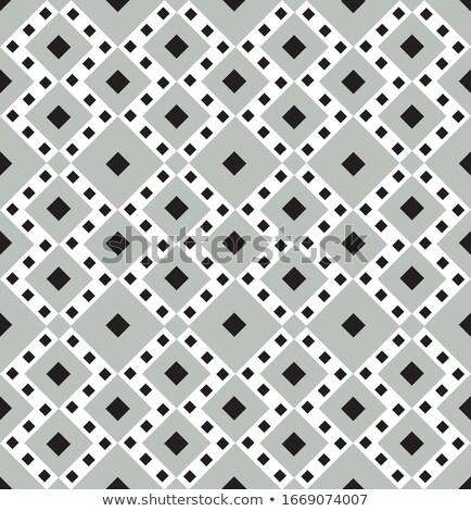Absztrakt csempe dísz mértani tér forma Stock fotó © Terriana