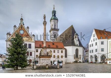 Parish Church of St. George, Freising, Germany Stock photo © borisb17