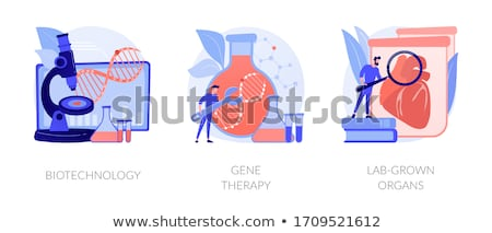 Gene engineering vector concept metaphor Stock photo © RAStudio
