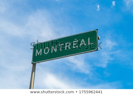 Montreal Highway  Sign Stock photo © kbuntu