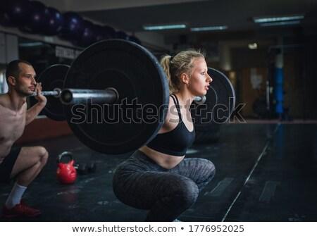 perfil · mujer - foto stock © nobilior