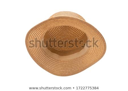 女性 · 日光浴 · ビキニ · 麦わら帽子 · スリム · ブロンド - ストックフォト © photography33