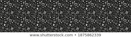 love scrawl on blackboard,valentine's day  Stock photo © rufous