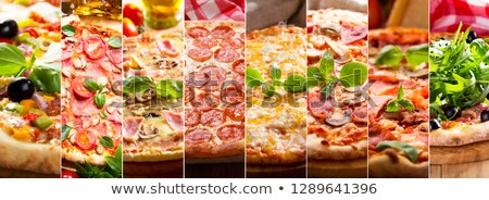 pizza · imagem · fast-food - foto stock © illustrart