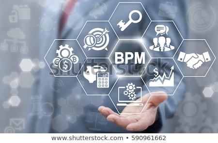 siglas · lpm · negocios · rendimiento · gestión · escrito - foto stock © bbbar