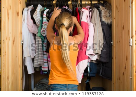 The child's closet looking for. stock photo © justinb