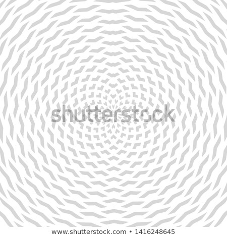 abstract radial geometric pattern on a black background Stock photo © Iscatel