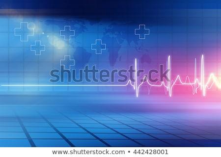 Stockfoto: Gezondheidszorg · nieuws · rollen · witte