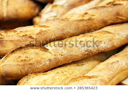 Crusty Artisan French Baguette Bread Stock photo © klsbear
