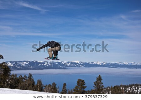 Snowboard heaven Stock photo © Sportlibrary