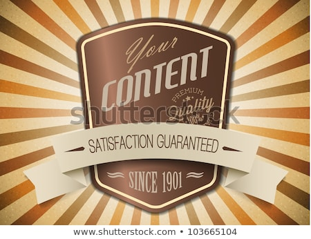 oude · bruin · vector · retro · vintage · label - stockfoto © orson