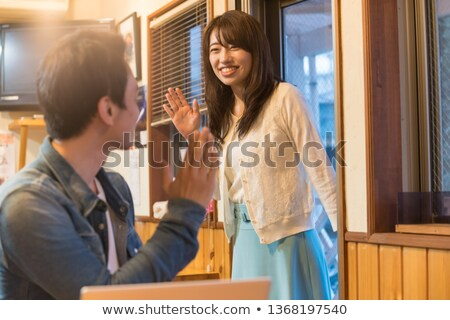 Man waiting for his girlfriend Stock photo © photography33