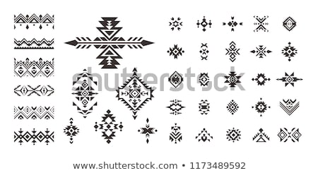 Native tribal designs Stock photo © mikemcd