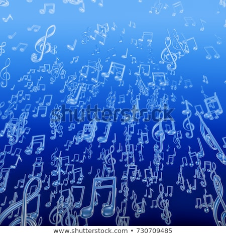 blue underwater chords Stock photo © prill
