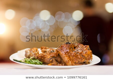grilled pork knuckle Stock photo © joker