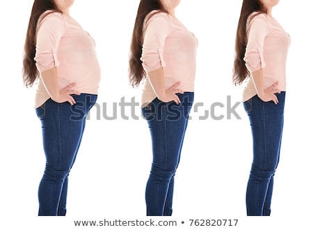 Changes of size after diet Stock photo © Vg
