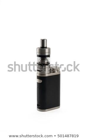 электрических сигарету изолированный белый здоровья электронных Сток-фото © shutswis