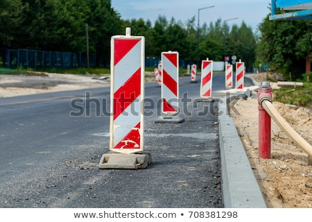 Summer road work Stock photo © Hofmeester