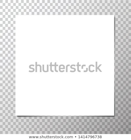 white squared paper sheet stock photo © vankad
