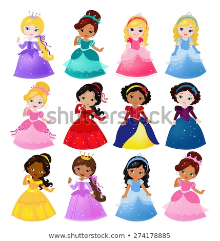princess collection Stock photo © ayelet_keshet