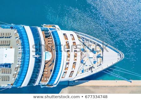 Foto stock: Cruise Ship - Cruise Liner