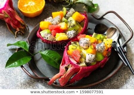 Exotic Salad Stock photo © bendicks