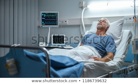 Patient recovering in bed in a hospital  Stock photo © wavebreak_media