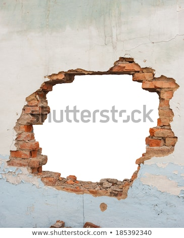 hole in the brick wall stock photo © ultrapro