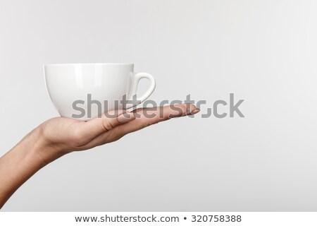 女性 · カップ · 茶 · キッチン · モデル - ストックフォト © wavebreak_media