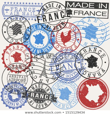 Stock photo: French post stamp